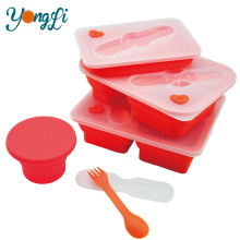 New-Type Silicone Microwavable Steaming Containers