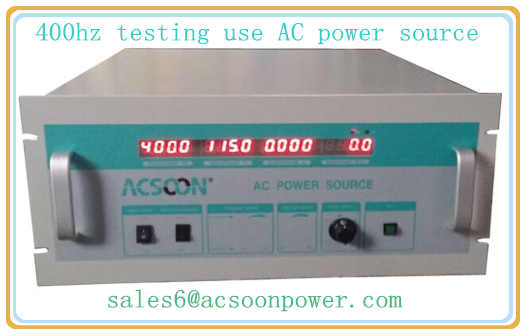 60hz to 400hz static frequency converter for aviation testing use