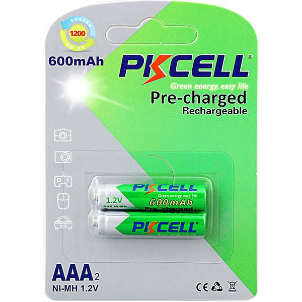 top sale already charged battery aaa 600mah 1.2v ni-mh rechargeable battery with cheap price
