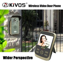 KIVOS KDB302A multi apartments wireless video door phone with two-way intercom factory wholesale