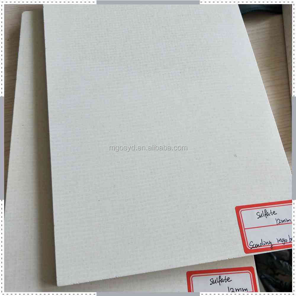 Linyi high density magnesium oxide sulfate board