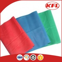 Colored Exercise Stretch Band Roll For Yoga
