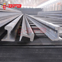 China supplier railroad steel rail heavy railway rail and light railway rail track for mining and crane