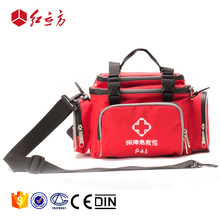 CE ISO sports camping multifunction 72 hour survival outdoor waterproof red emergency medical kit pouch oem first aid bags