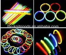 yiwu CORNER BY2013013 led flashing glow dancing light stick bracelets in the dark with colorful for party