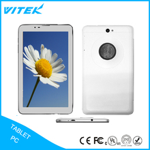 Factory price dual sim camera wifi custom quad core android tablet