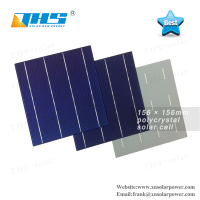 High Quality 3BB/4BB Polycrystalline Solar Cell 156x156 for solar panel
