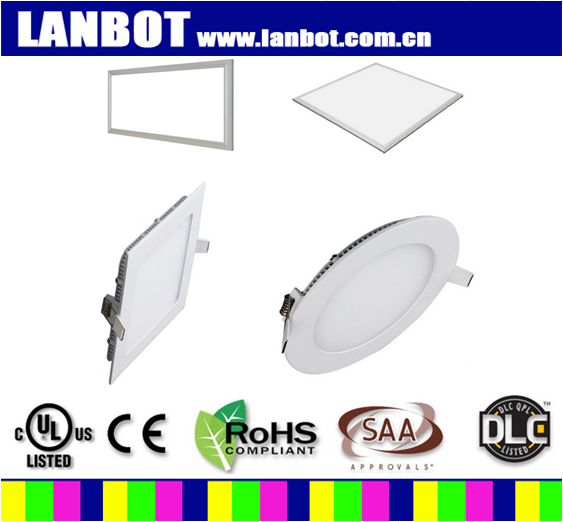 Led flat panel lights square realization WiFi 0-10V TRIAC dimming DALI Zigbee SCR tune the color temperature infrared control