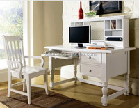 Printed white solid wood office furniture manufacture