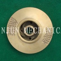 Manufacture Makes Water Pump Brass Impeller