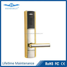 Hotel door lock with 13.56MHz RFID Technology, Five- point latch with anti-friction Mechanism (CE Mark)