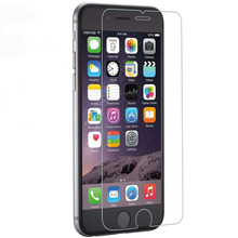 Factory price 9H Hardness fingerprint resistant no bubble Tempered glass screen protector for iphone 6