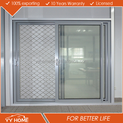 YY HOME soundproof and waterproof color available floor guide sliding door