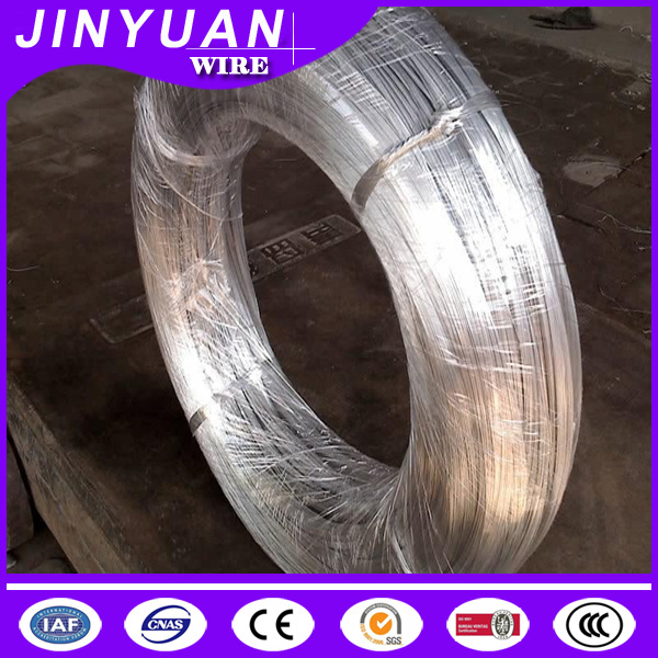 10-25kg coil factory direct selling Top grade electro galvanized iron wire 25g zinc coating rate