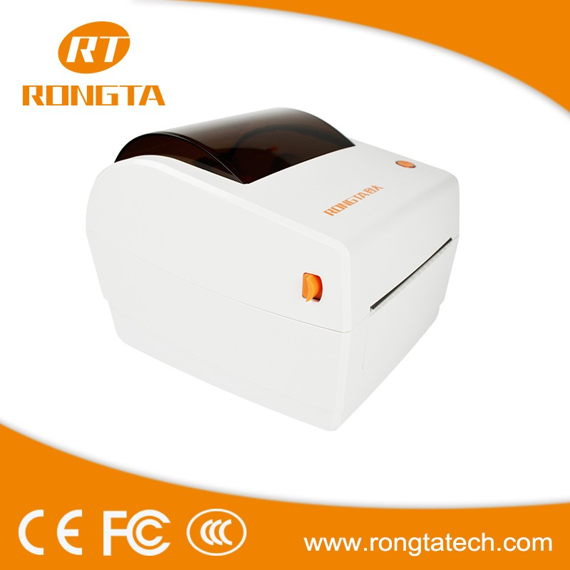 High quality 4 inch 203DPI thermal line printing supermarket label printer RP410 with software