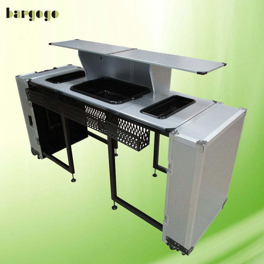 WSOB07 mini table folding Portable Bar counter