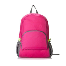 Rose Red Womens Ultra Lightweight Packable Backpack Hiking Foldable Outdoor Travel <strong>School</strong> Carry on Backpacking