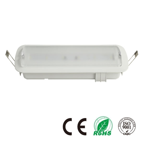CE Emergency Light LED 3W New Emergency Lighting Ceiling Recessed LED
