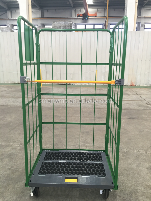 Chinese Supplier Multiple Functional Foldable Steel Logistic Trolley Cart