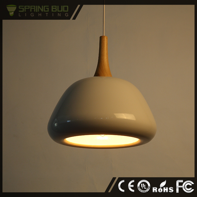 2015 fashion design Large Industrial classically designed white basin pendant light with concrete light