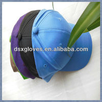blue customized 100% cotton sports caps baseball hats 6pannel promotional caps