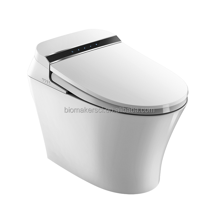 High Quality Flush Power Intelligence Toilet With Sensor Flush