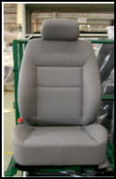 luxury recling auto seat with orginal style/vory color car seats ford