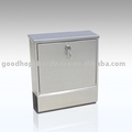GH-3314 wall mounted stainless steel mailbox