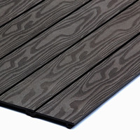High Strength New Wood Plastic WPC Composite Wall Cladding Boards Outdoor WPC Wall Panels