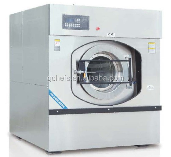 2015 Famous and durable fully stainless steel industrial washing machine prices Full Automatic Washer Extractor (70 kg)