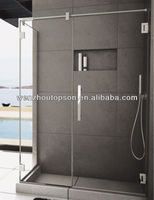 Frameless tempered glass shower door/shower screen