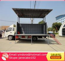 Mini new roadshow mobile stage truck