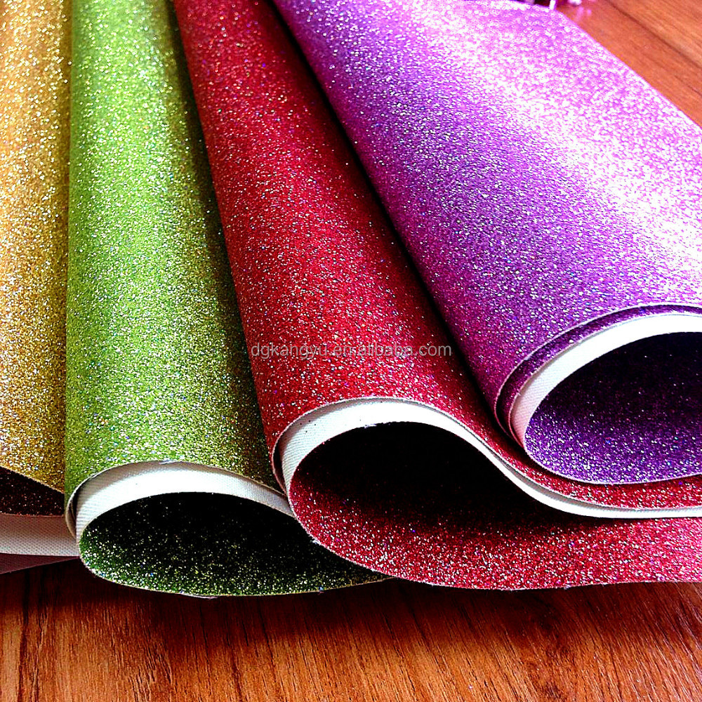 Wholesale Upholstery Fabric 2016 new product Glitter Wallpaper