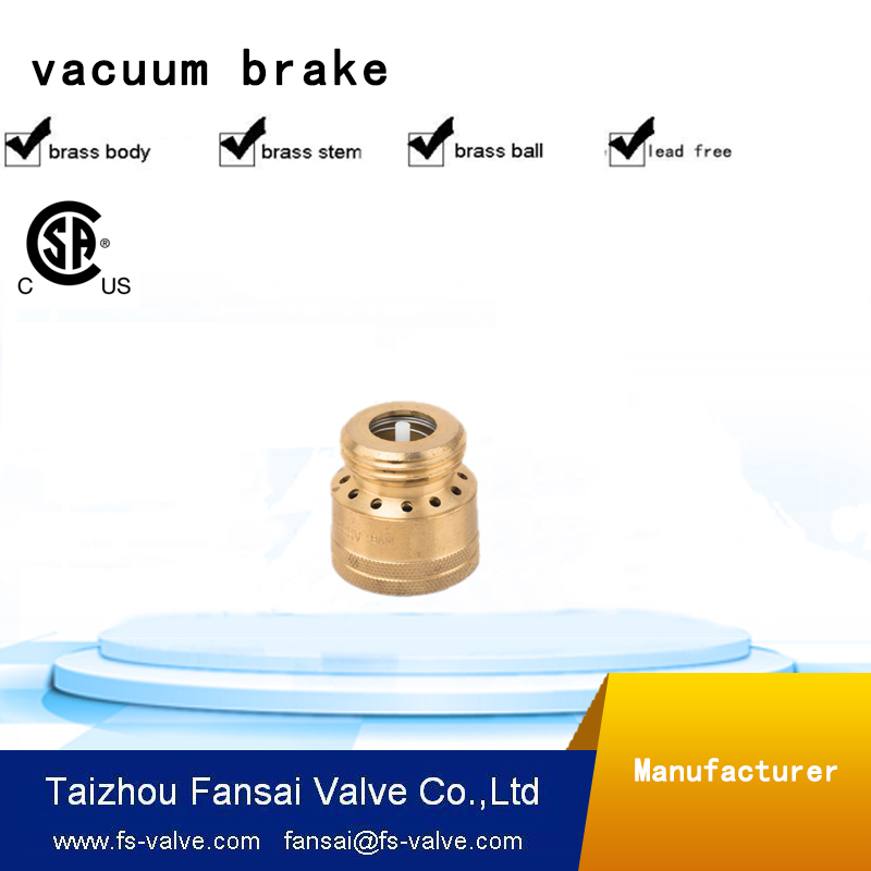 High quality brass 3/4 inch 12 holes vacuum breaker