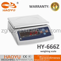 plastic packing cover machine Y-666Z calibration electronic scale acs