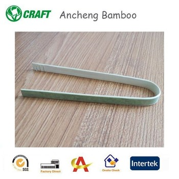 High quality hot sale bamboo Flexible food tongs with great price