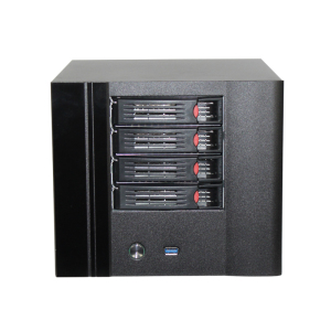 N4 Equipped with High Quality Hot Swap 4 Bay nas server case for desktop filecoin