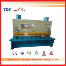AnHui Dream World CNC Guillotine Plate Shearing Machine, CNC Cutting Machine, Guillotine Metal Cutting Machine