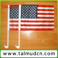 Promotional Country plastic car window flag poles For Promotional
