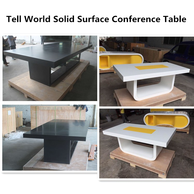 Tell World conference room furniture hdmi conference table