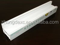 pvc profile for window and door extrusion pvc profiles