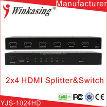 HD/3D HDMI Switch Splitter 2x4
