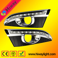 China manufacturer auto grille led for chevrolet captiva auto accessories led day lights