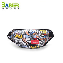 Fashion hiking mobile phone supreme women waist bag
