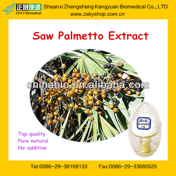 plant extract saw palmetto fruit extract/fatty acid
