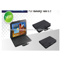 WIRELESS LEATHER BLUE TOOTH KEYBOARD FOR SAMSUNG TABLET