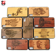 Wholesale Price Wood Phone Cover for iPhone 6 for iPhone 7 Plus Wood TPU Back Cover Mobile Phone Accessories