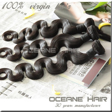 Instock full cuticle best selling factory price natural hair extensions double drawn hair weaving in bangkok