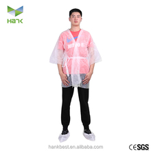 Disposable Nonwoven Sauna Suit/ Kimono For Men