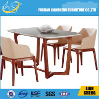 popular solid wood tables and chairs for events TW5017#